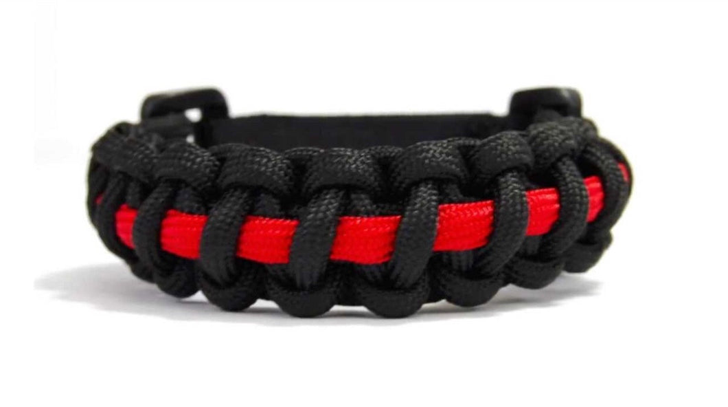 THIN RED LINE SURVIVAL BRACELET