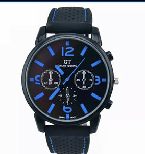 Budget Thin Blue Line Inspired Watch