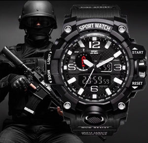 Thin Blue Line Inspired S Shock Watch