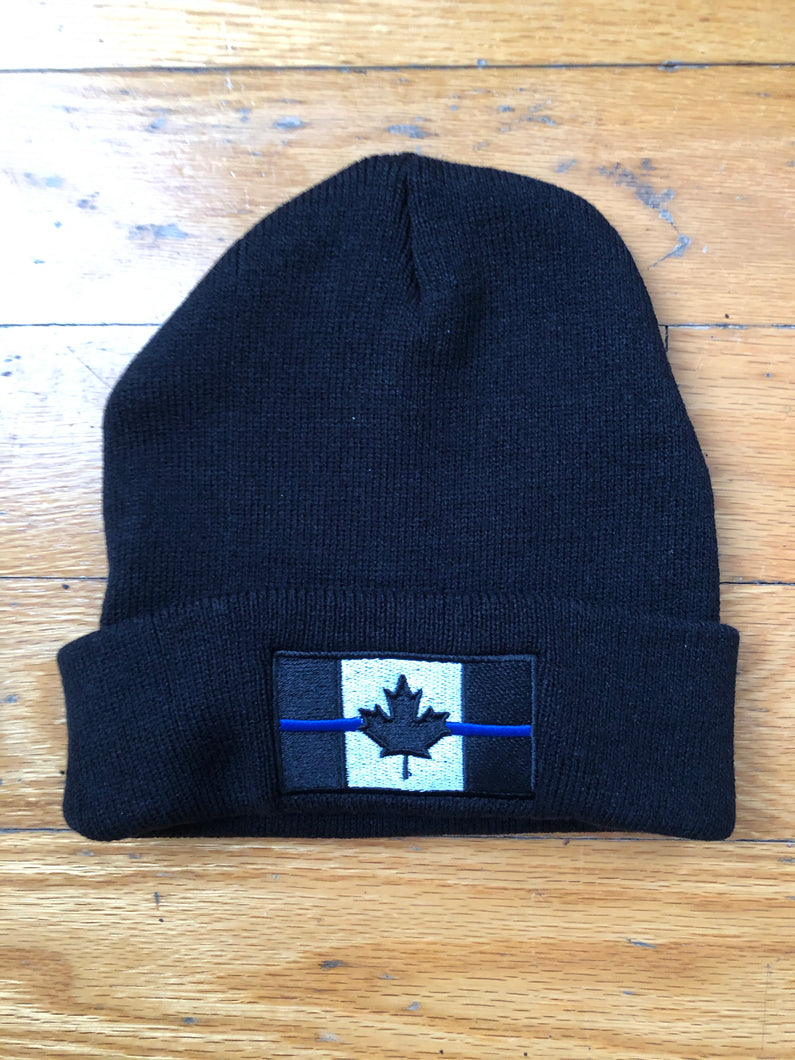 Super Winter Promotion, Free Thin Blue Line Canada Toque (Winter hat) with EVERY purchase of $59.99 or more (before taxes and shipping). MUST add toque to cart and enter Promo Code NOGGIN at checkout