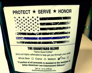 Thin Blue Line America Travel Duo Kit w/ Coffee