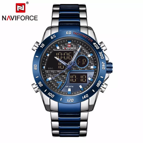 Thin Blue Line Inspired NAVIFORCE Double Display Sports Watch (FREE Shipping)