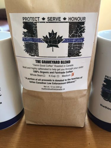 "Thin Blue Line Canada Coffee ""The Graveyard Blend"" (2 Pack)"