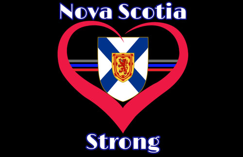 Nova Scotia Strong Fundraiser Sticker / Decal (version 1)