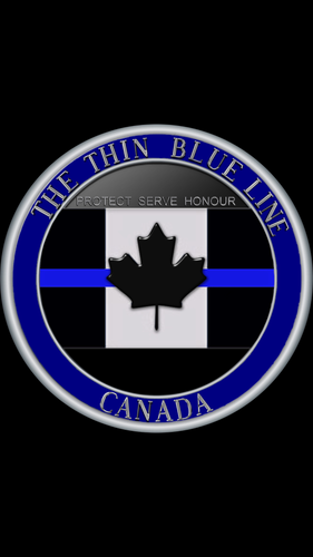 (Presale) The Thin Blue Line Canada 🇨🇦 Official Challenge Coin
