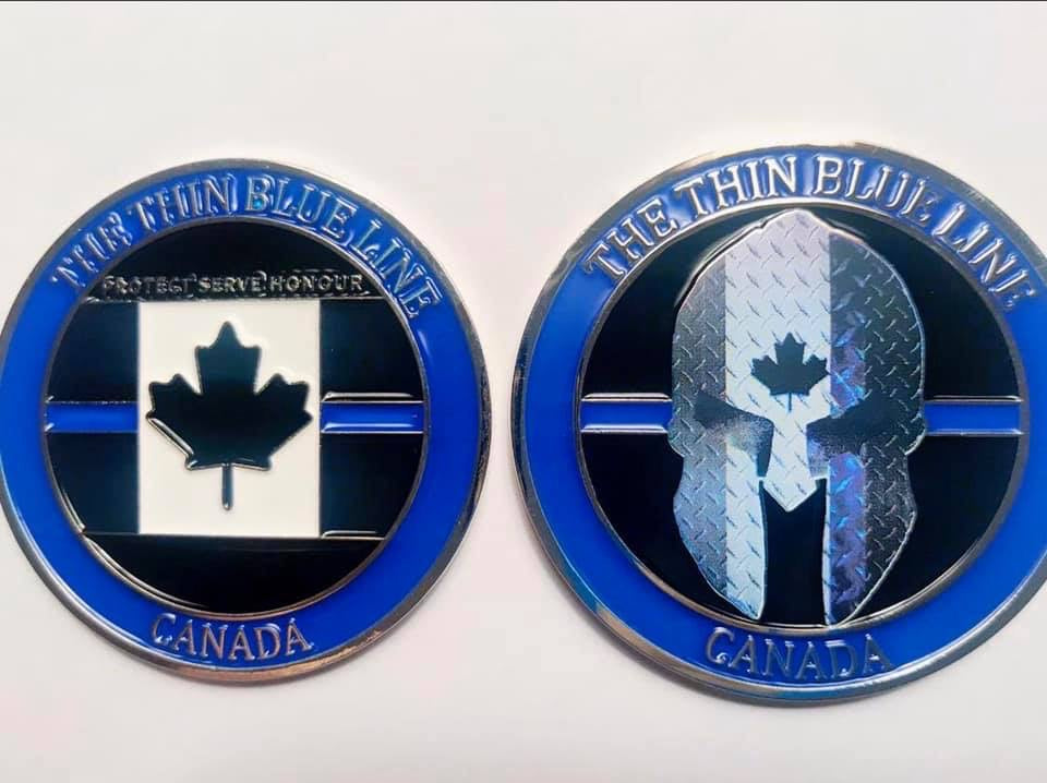 Thin Blue Line Canada 🇨🇦 Official Challenge Coin
