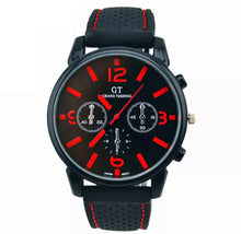 Load image into Gallery viewer, Thin Red Line Inspired Watch