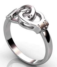 Load image into Gallery viewer, Sterling Silver Handcuff Ring