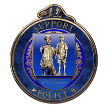 Load image into Gallery viewer, The Thin Blue Line Canada Support Police Challenge Coin