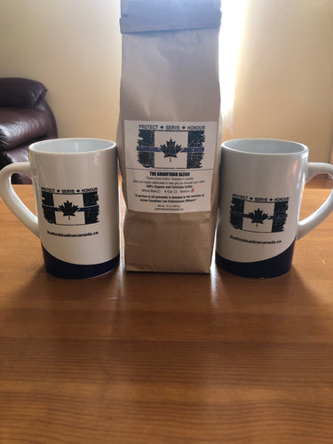 Thin Blue Line Canada Home / Office Coffee Kit