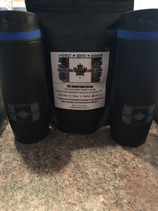 Thin Blue Line Canada Travel Duo Kit w/ Coffee