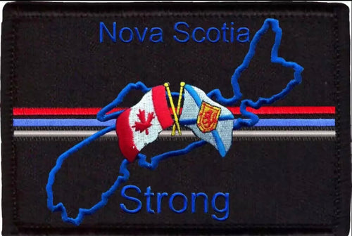 Presale PATCH Nova Scotia Strong Fundraiser Patch (version 2)