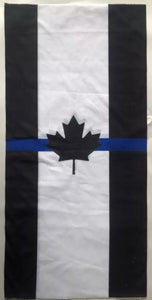 Thin Blue Line Canada Neck Gaiter / Face Mask Duo (Free Shipping)