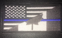 Load image into Gallery viewer, Unique Canada 🇨🇦 / USA 🇺🇸 Flag Velcro backed Patch