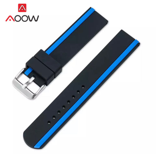 Thin Blue Line / Thin Red Line Smart Watch Band (20, 22, 24 mm FREE Shipping)