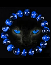 Load image into Gallery viewer, Unisex Blue Tiger Eye Bracelets (4 sizes, FREE Shipping)