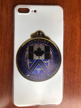 Load image into Gallery viewer, Thin Blue Line Canada Support Police Silicone Phone Cases! (Please email us if you do not see your phone's model and we'll let you know if we can produce it)