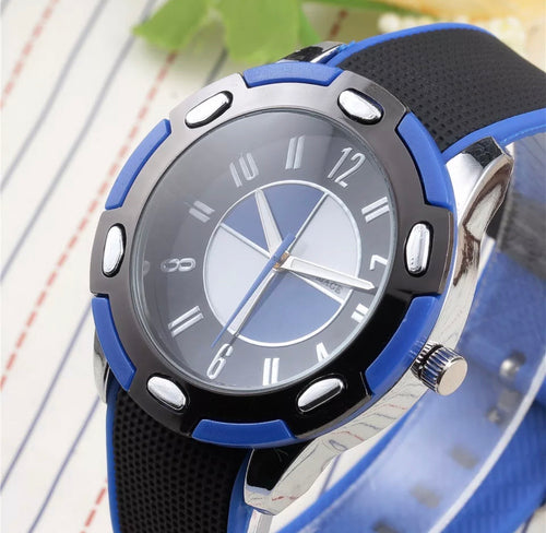 Thin Blue Line Inspired Stylish Watch