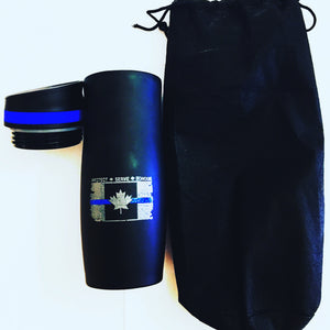 Thin Blue Line Canada Combo Home / Travel Coffee Kit
