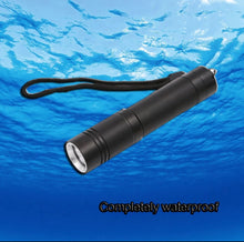 Load image into Gallery viewer, IPX8 new LED Completely Waterproof flashlight XM-L T6 LED