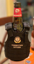Load image into Gallery viewer, **IMPORTANT, PLEASE READ ITEM DESCRIPTION**  Miniature Tactical Vest Koozie Type Beverage Insulator