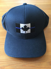 Load image into Gallery viewer, Thin Blue Line Levelwear Marker SnapBack Cap