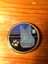 Load image into Gallery viewer, The Thin Blue Line Canada K9 Challenge Coin