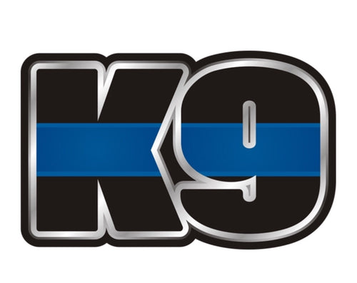 Thin Blue Line Police K9 Decal / Sticker