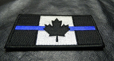 Thin Blue Line Canada Flag Patch