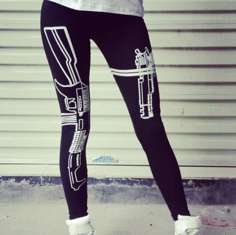 Gun Work Leggings - Cargobayy
