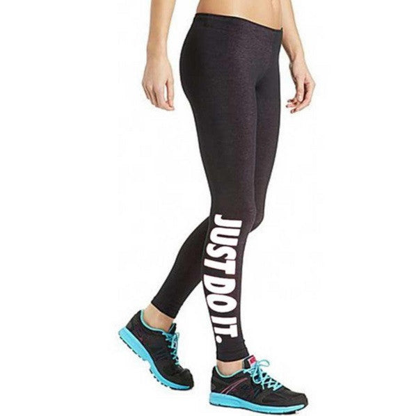 Just Do It Leggings - Cargobayy