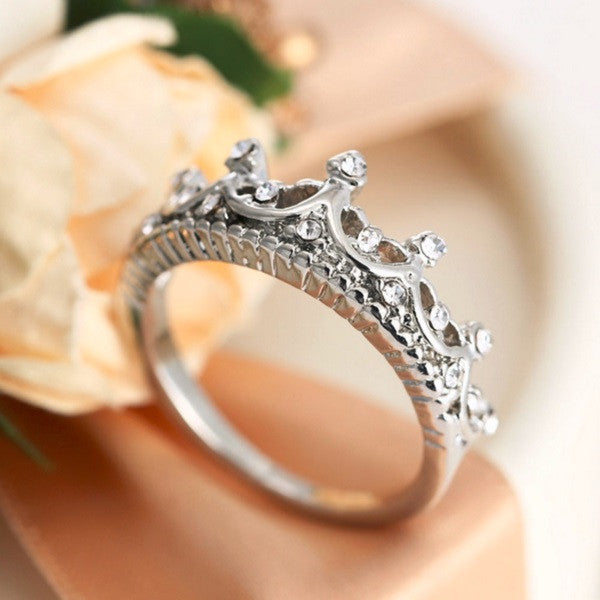 Princess Crown Ring - Cargobayy