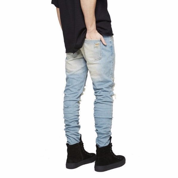 Luxury Casual Ripped Jeans - Cargobayy