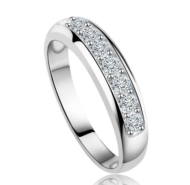 Luxury Austrian Zircon Eternity Ring - Cargobayy