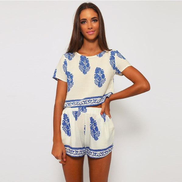 Vintage Summer Two-Piece - Cargobayy