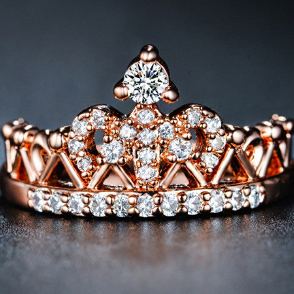 Exquisite Crown Ring - Cargobayy