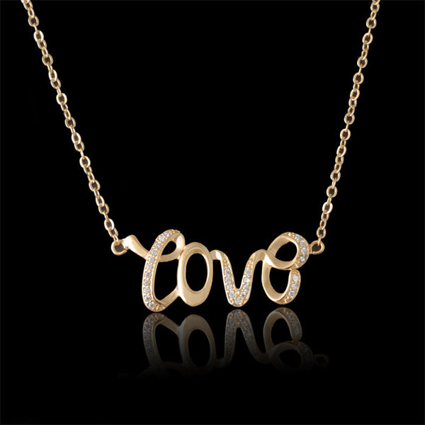 Letter of Love Necklace
