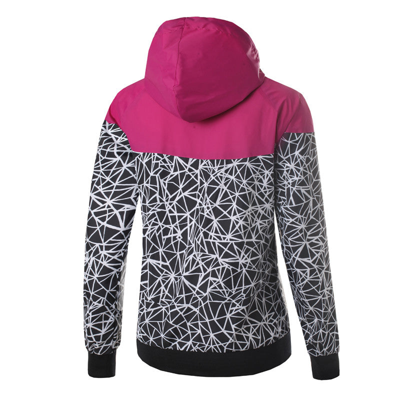 Women's Casual Thin Windbreaker Jacket