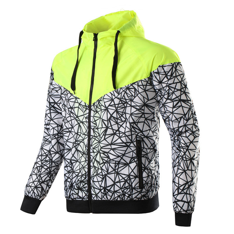 Men's Casual Thin Windbreaker Jacket