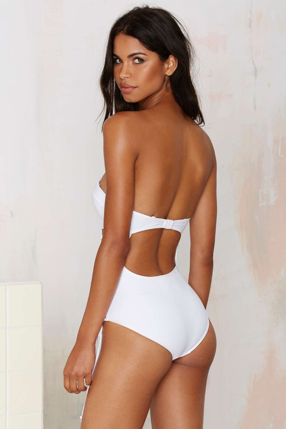 Strappy Hollow One Piece
