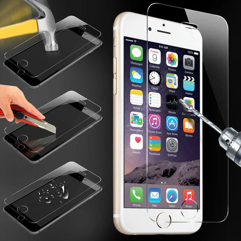 Tempered Glass Screen Protector & Clean Kits