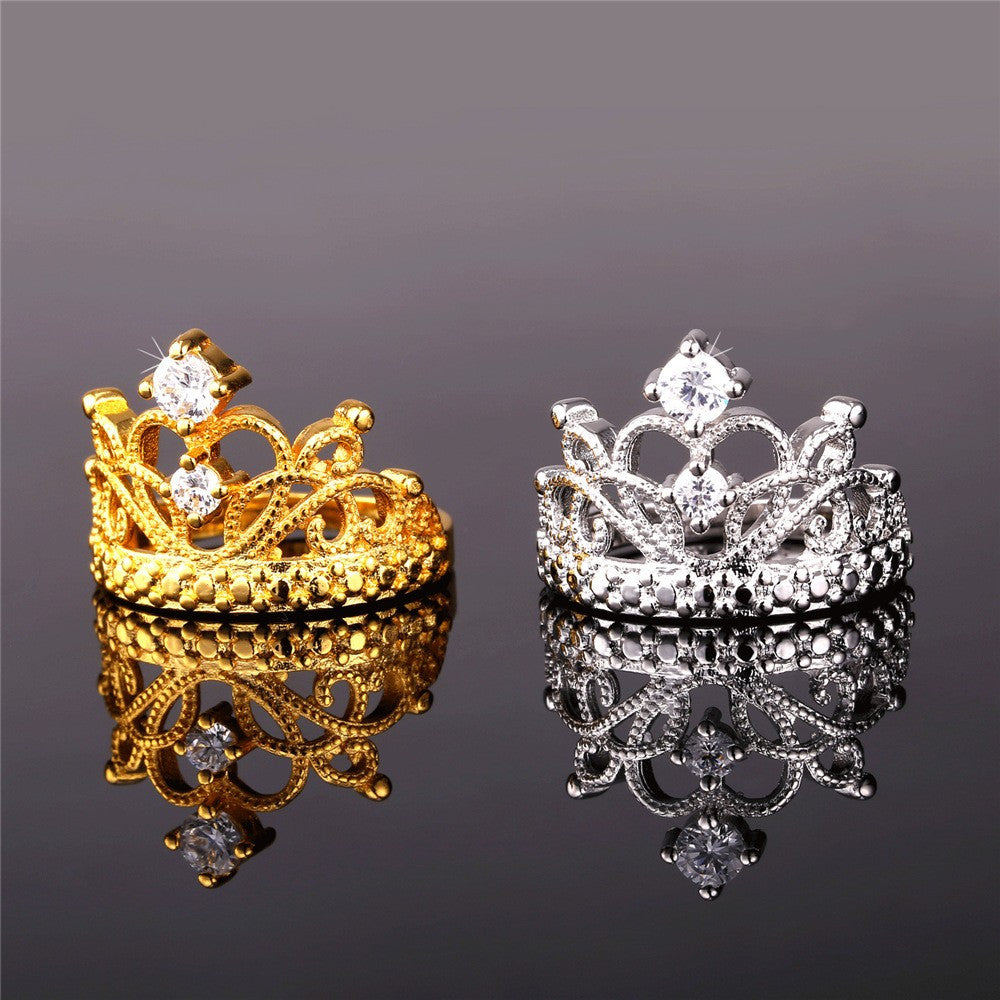 Luxury Crown Ring - Cargobayy