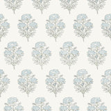 Willow Wallpaper in Blue