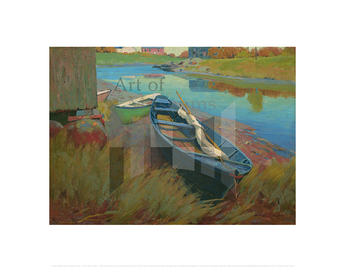 Boats at Rest, Arthur Wesley Dow