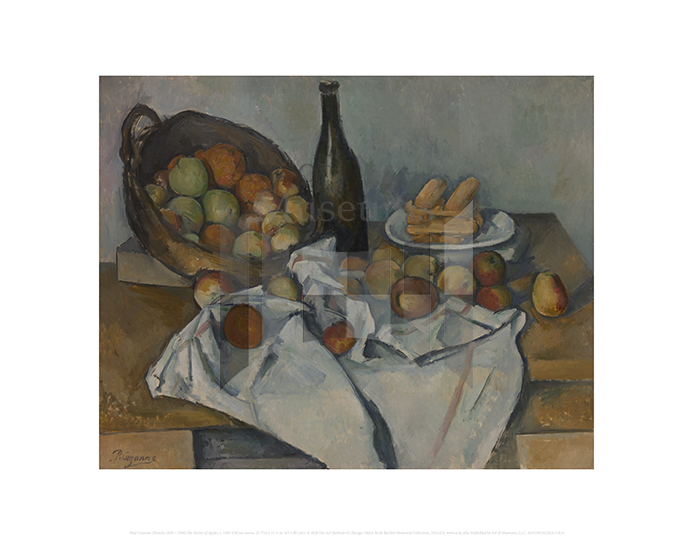 The Basket of Apples, Paul Cezanne