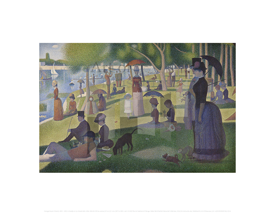 A Sunday on La Grande Jatte-1884, Georges Seurat
