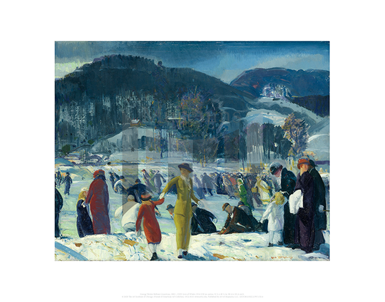 Love of Winter, George Wesley Bellows