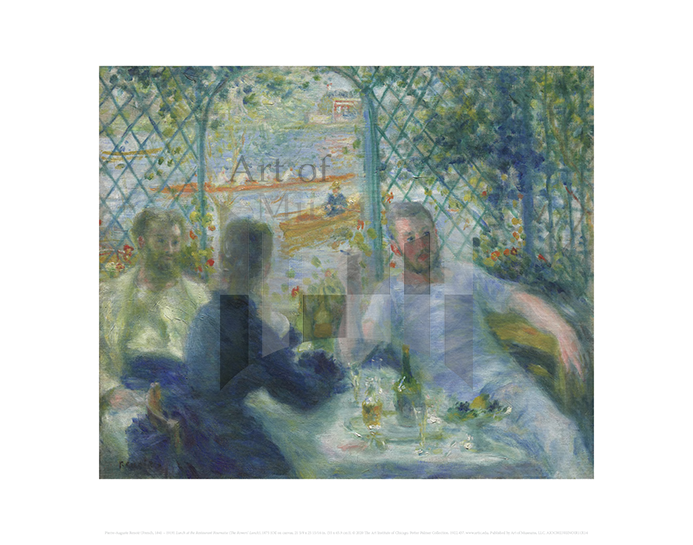 Lunch at the Restaurant Fournaise (The Rowers' Lunch), Auguste Renoir