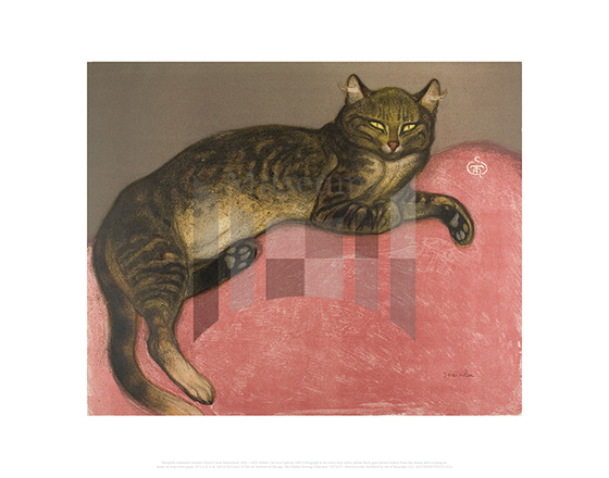 Winter: Cat on a Cushion, Theophile-Alexandre Steinlen