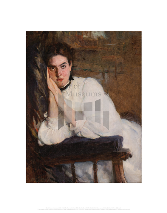 The Dreamer (Portrait of Caroline Smith), Cecilia Beaux